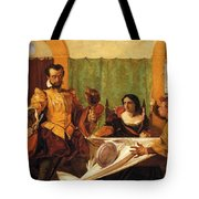 The Dinner Scene From Taming Of The Shrew Tote Bag