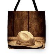 The Dirty Tan Hat Tote Bag