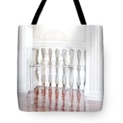 The Disappearing Chair Tote Bag