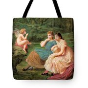 The Discourse Of Love Tote Bag
