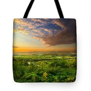 The Distance Between Here And Now Tote Bag