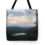 The Distant Hills Of Vermont Tote Bag