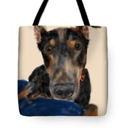 The Doberman Tote Bag