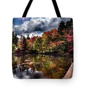 The Dock At The Boathouse Tote Bag