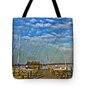 The Dock Of The Bay Tote Bag