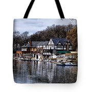 The Docks At Boathouse Row - Philadelphia Tote Bag