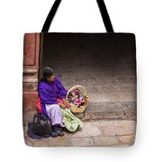 The Doll Peddler Tote Bag