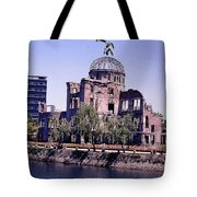 The Dome In Hiroshima Tote Bag
