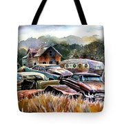The Donor Cars Tote Bag