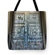 The Door At The Parthenon In Nashville Tennessee Tote Bag