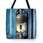 The Door Knob Tote Bag