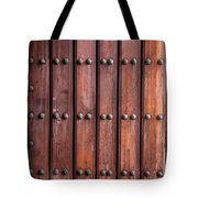 The Door Of San Juan Tote Bag