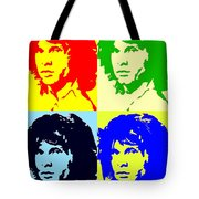 The Doors And Jimmy Tote Bag by Robert Margetts