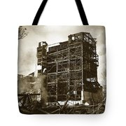 The Dorrance Breaker Wilkes Barre Pa 1983 Tote Bag