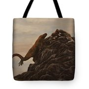 The Dragon And The Ox Tote Bag