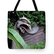 The Dragon In The Garden Tote Bag