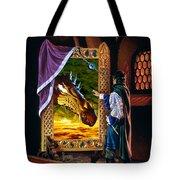 The Dragon Mirror Tote Bag