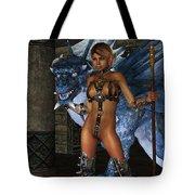The Dragon Princess Tote Bag