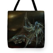 The Dragon Warrior Tote Bag