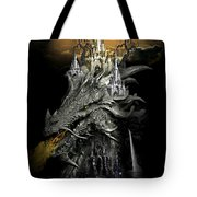 The Dragons Castle Tote Bag