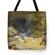 The Dragon's Cave Tote Bag