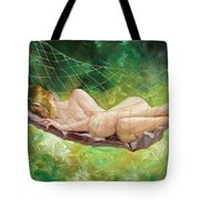 The Dream In Summer Garden Tote Bag
