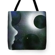 The Dream Of Space Tote Bag