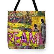 The Dream Trio Tote Bag