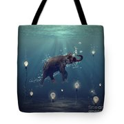 The Dreamer Tote Bag by Martine Roch