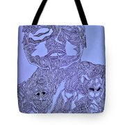 The Dreaming Man Tote Bag