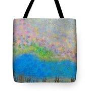 The Dreamy Pond Tote Bag