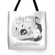 The Dressage Fan Tote Bag