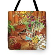 The Dried Flower Shop Tote Bag