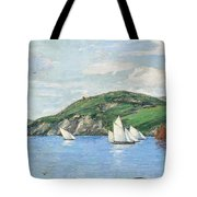 The Drifting Fishing Fleet Tote Bag