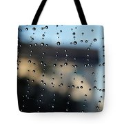 The Droplet Curtain Tote Bag