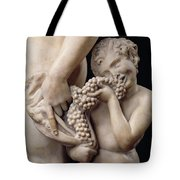 The Drunkenness Of Bacchus Tote Bag by Michelangelo