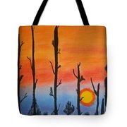 The Dryest Sunset Tote Bag