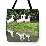 The Duck Gang Tote Bag