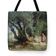 The Duck Pond Tote Bag