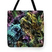 The Duel Of The Dragons  Tote Bag