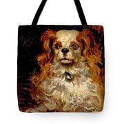 The Duke Of Marlborough. Portrait Of A Puppy Tote Bag
