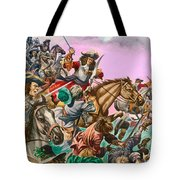 The Duke Of Monmouth At The Battle Of Sedgemoor Tote Bag