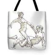 The Duo Tote Bag by Judith Kunzle
