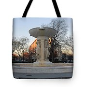 The Dupont Circle Fountain Without Water Tote Bag
