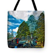 The Durbin Rocket - Paint Tote Bag