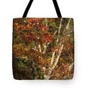 The Dying Leaves' Final Passion Tote Bag