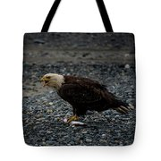 The Eagle And Its Prey Tote Bag