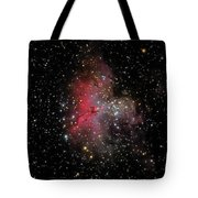 The Eagle Nebula And The Stellar Spire Tote Bag