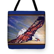 The Eagle Or The Great Thunderbird Spirit In The Sky Tote Bag