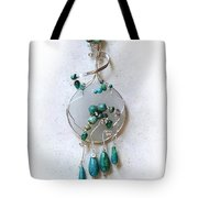 The Earth And Sky And Sea Tote Bag
